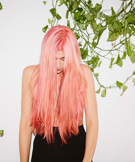 pink: Girls Nails, Color Beauty Hair, Fruity Colors, Pink Hair, Trend Refinery29, Hair Trends, Hair Color