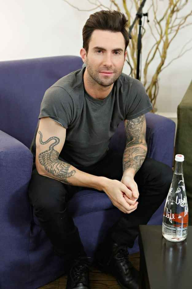 Adam Levine | The Official Ranking Of The 51 Hottest Jewish Men In Hollywood How is he #9 and not #1