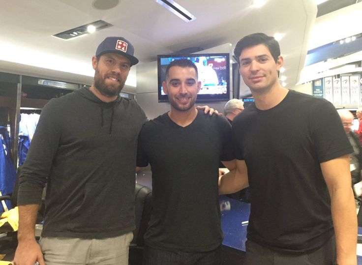 Shea Weber, Marco Estrada & Carey Price