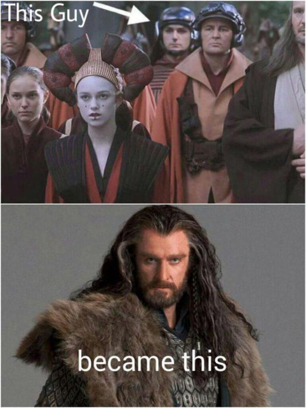 Star Wars: The Phantom Thorin | Thorin did say that he switched through many jobs before the quest.