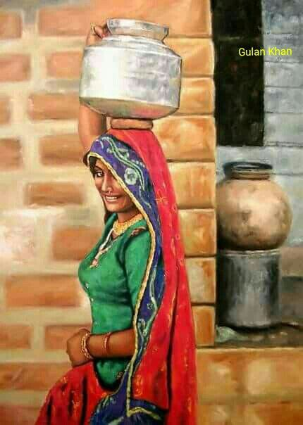 Sindhi culturally art