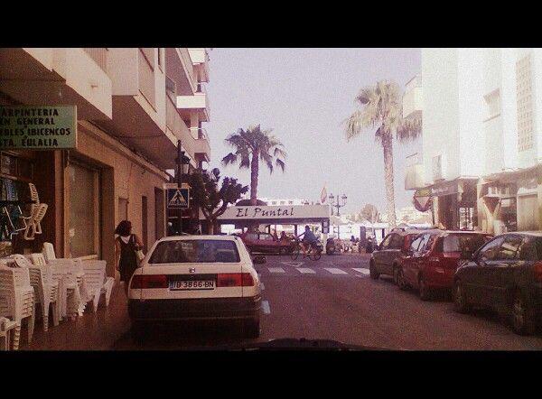 San Carlos in Eivissa, summer 2014 #eivissa #sancarlos #ibiza #island #palmtree #travel