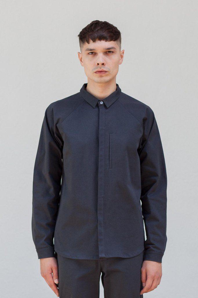 VON HUND Fashion & Design - Menswear Lookbook S/S16, Anthracite Marlo Shirt & Anzo Pants. Radical Price Transparency.  www.vonhund.com