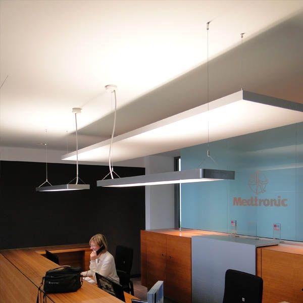 Schallschutz Büro Mit Akustiksegeln Verbessert Die Raumakustik Insbesondere  In Bereichen Mit Hoher Kommunikation.