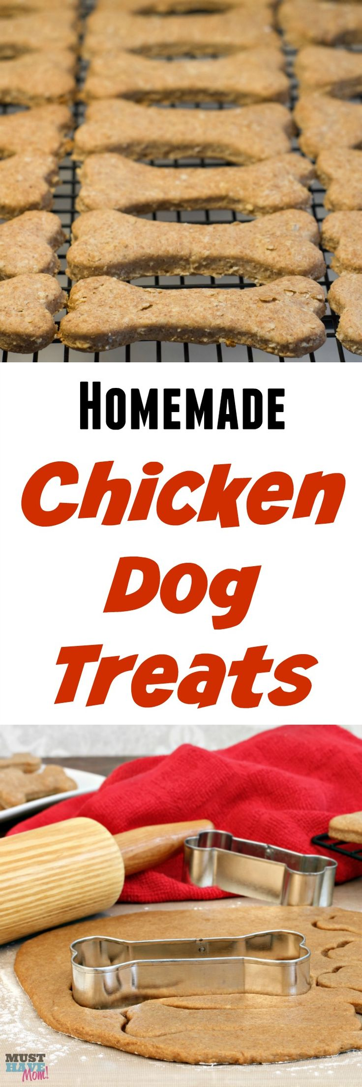 homemade chicken dog treats