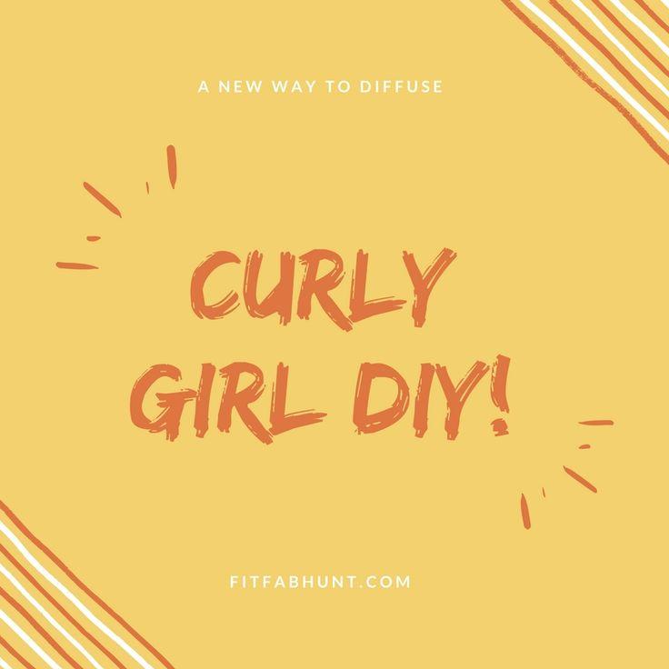 Curly girl DIY