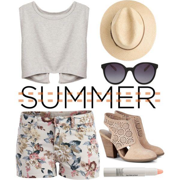 A cute summer outfit. #lovesummer☀️