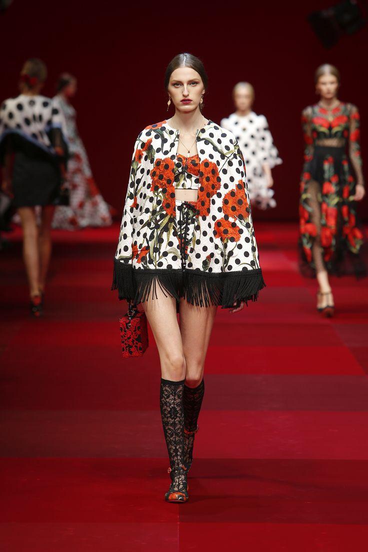 Dolce&Gabbana Summer 2015 Womens Fashion Show. #dgss15