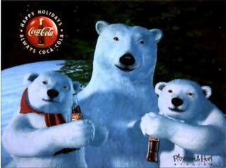 Advertising Characters ~ The Coca Cola Bears