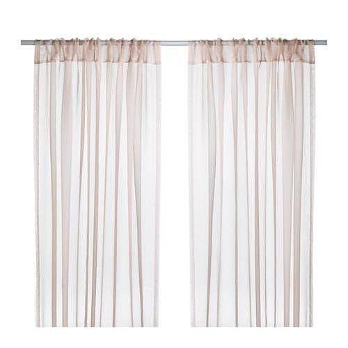 TERESIA Tenda sottile, 2 teli IKEA Le tende sottili lasciano filtrare la luce e salvaguardano la tua privacy: sono ideali in soluzioni a più strati.
