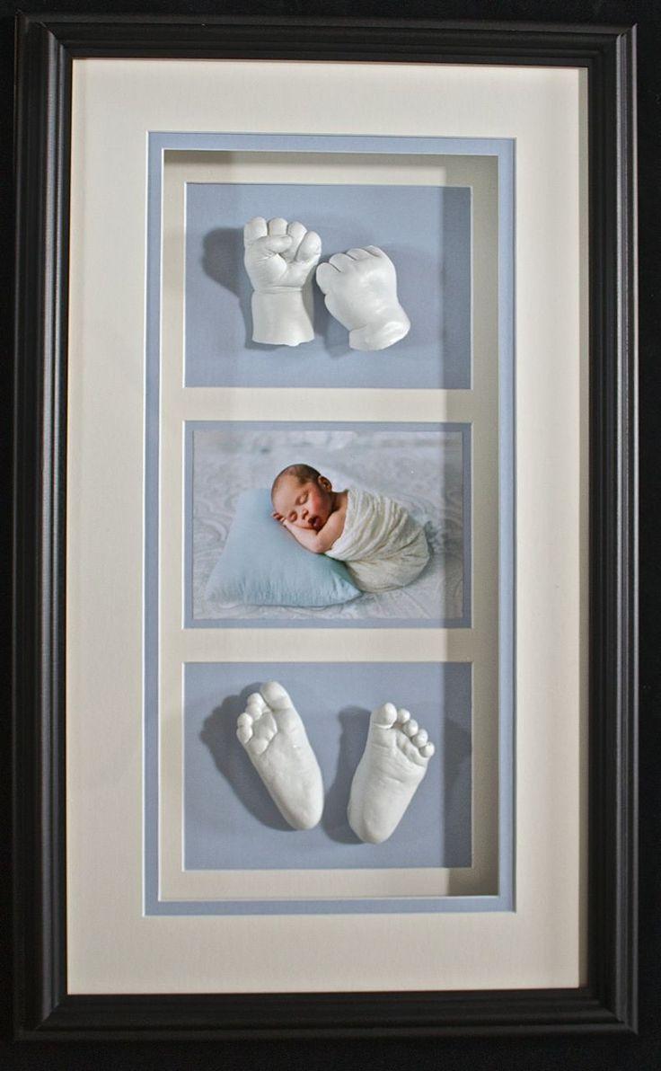 Framed baby lifecasting clarelegance.com Hamilton, Ontario Clarelegance - Sculptures of Beauty and Love