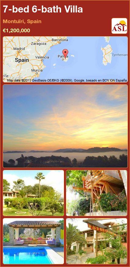 7-bed 6-bath Villa in Montuïri, Spain ►€1,200,000 #PropertyForSaleInSpain