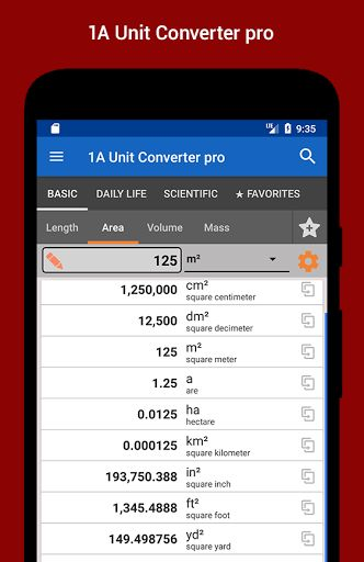 1A Unit Converter pro v2.0   1A Unit Converter pro v2.0 Requirements:4.0.3 and up Overview:New! Clearly arranged and intuitive! With a beautiful user interface!  New! Clearly arranged and intuitive! With a beautiful user interface! The 1A Unit Converter pro is a versatile customizable and user-friendly conversion app.  With the '1A Unit Converter pro' you enjoy a completely ad-free version of the app and support the further development of this project.  The app contains 35 categories of…