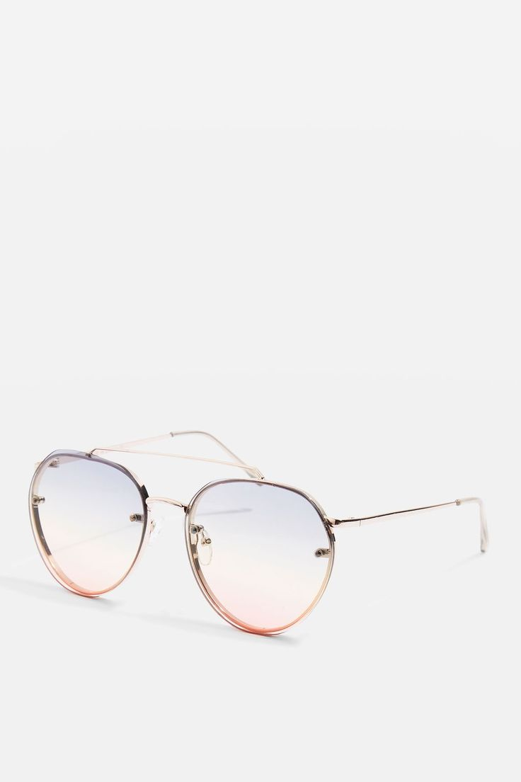 L2017 http://www.topshop.com/en/tsuk/product/bags-accessories-1702216/sunglasses-468/small-rimless-round-sunglasses-6841006?bi=0