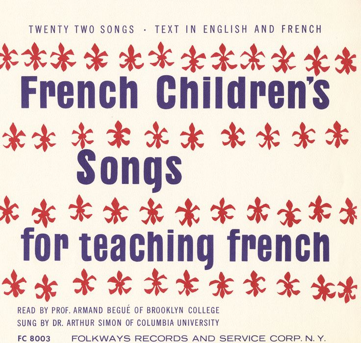 This record presents French songs for children, specially selected to provide a fun way of introducing young listeners to French language and culture. The songs convey a representative spirit of the country but also help children in learning correct French pronunciation and intonation.The CD ...
