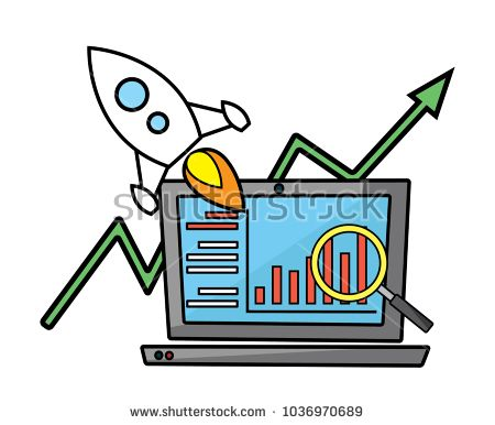 seo optimization cartoon illustration.carton design style.designed for web and presentation