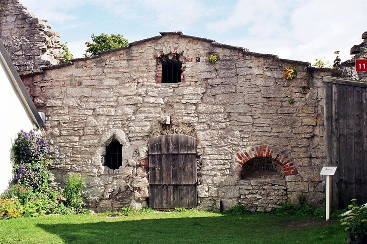 The oldest house in Visby, Gotland
