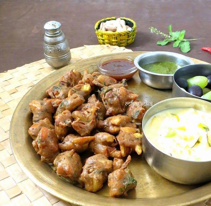 Maayeka: Kuttu Ki Pakodi - Buckwheat flour Fritters  http://maayeka.blogspot.ae/2014/04/kuttu-ka-pakora-buckwheat-flour-fritters.html