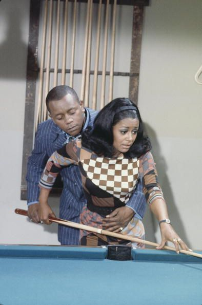 """Flip Wilson and Gail Fisher guest starring on an episode of """"Love, American Style"""" called """"Love and the Hustler."""" This show aired one month before I was born, on September 29, 1969, but I definitely remember watching """"Love, American Style"""" in repeats. I wonder if it still holds up today? Hmmm….  I'm sure most of you know the iconic comedian Flip Wilson, but Gail Fisher was an actress best known for her Emmy-winning role as Peggy Fair, secretary to"""