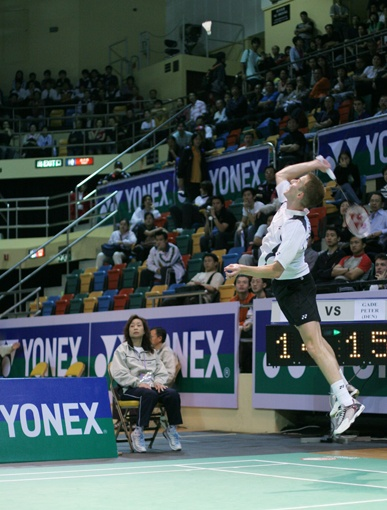 A good badminton photo