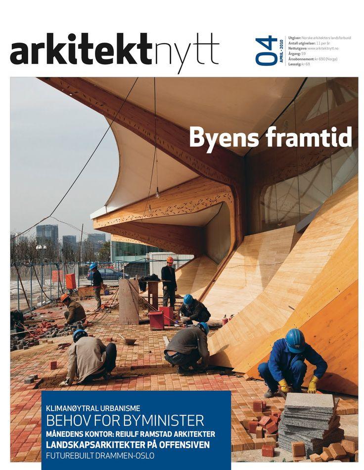 Arkitektnytt #4, 2010