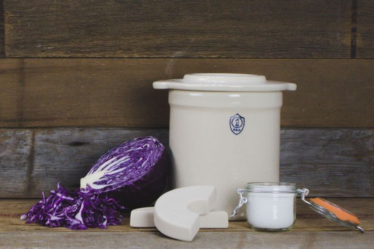 Overview Features Learn More 1 Gallon stoneware fermentation crock handmade in the U.S.A. The oldest way to preserve food is with fermentation. Fermentation all