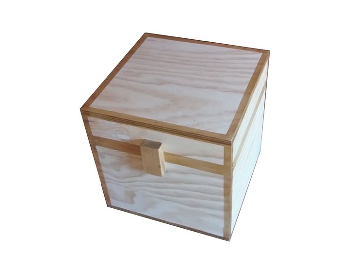 Minecraft Inspired Chest Real Wood, Perceptive Kitchen Fittings Ltd