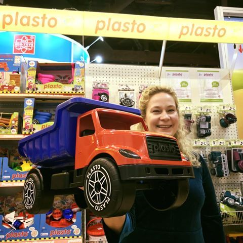 The new look for Plasto big truck at Spielwarenmesse  2018 Toy Fair #Nuremberg