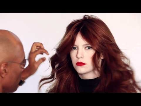 #BbColorMinded Tousled waves by Bb.Editorial Stylist Rolando Beauchamp