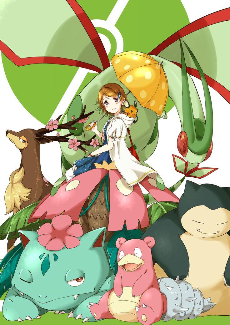 Semicha Keisuke, Love Live!, Pokémon, Snorlax, Slowbro, Venusaur
