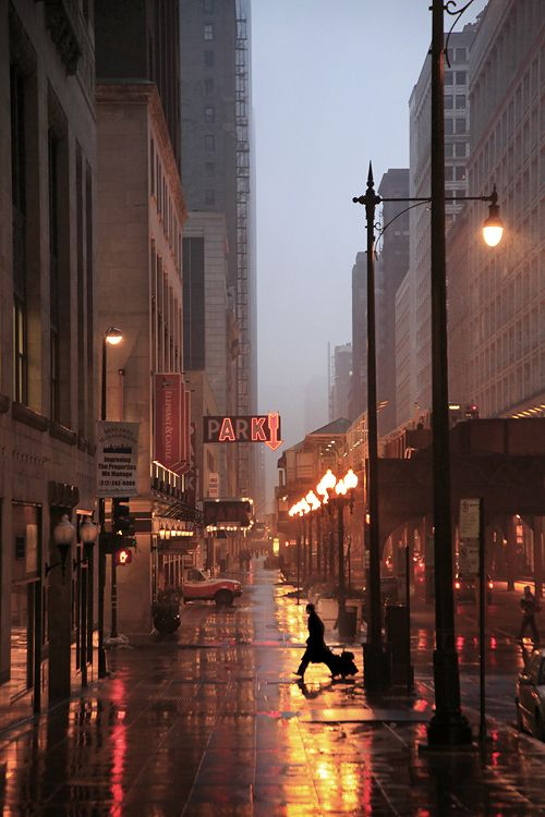 AK: Big Cities, Rainy Night, New York Cities, Cities Street, Cities Life, Chicago, Places, Photo, Cities Lights