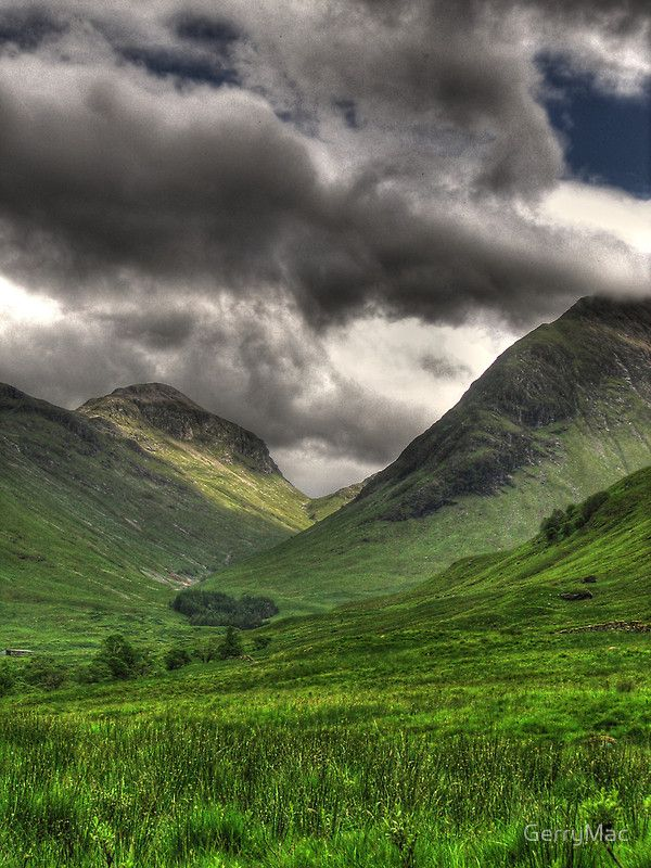 Glencoe - This is one of the most hauntingly beautiful places I've ever seen.
