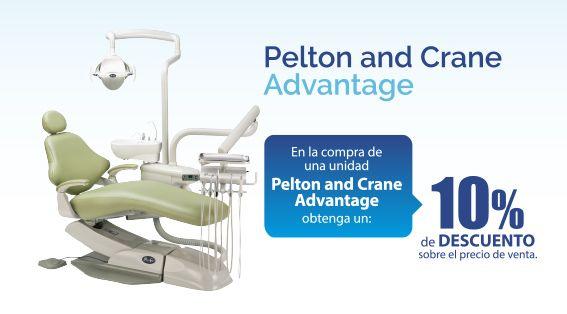 Obtenga un 10% de #descuento en la #UnidadDental Pelton & Cane Advantage