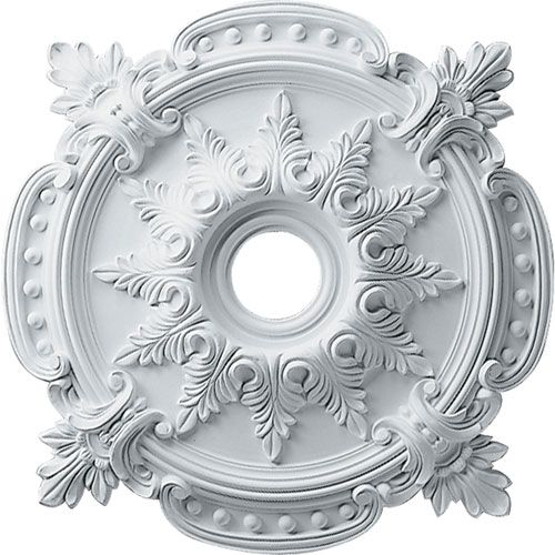 Benson Classic Ceiling Medallion Ekena Millwork Unfinished Ceiling Medallions Home Decor