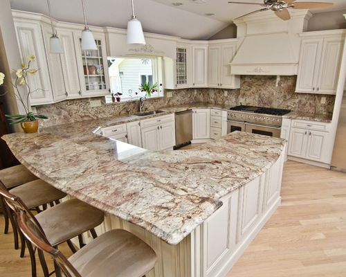 white kitchen cabinets black granite countertops dark backsplash
