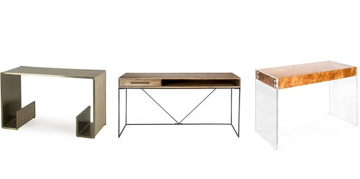 It's hard to be a hot mess with a sleek and simple desk.