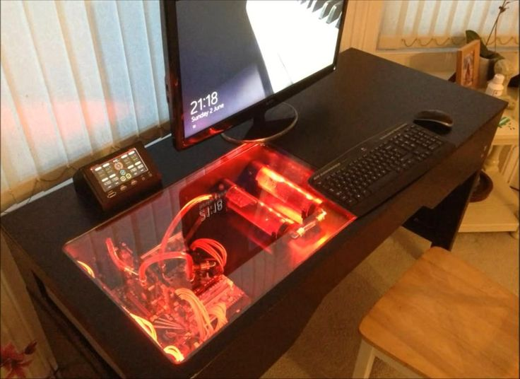 In Response To The Wall Mounted Pc The Desk Pc