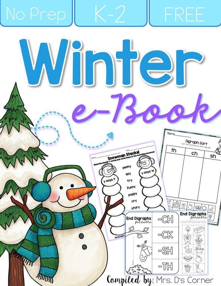 Bring winter into your classroom! Check out fun art activities, winter mentor texts, writing activities AND grab a FREE eBook packed with fun winter-themed resources for your classroom! #winter #free #literacy #ela #math #worksheets