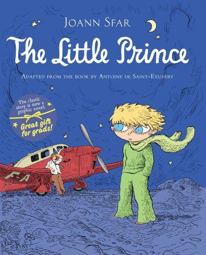The Little Prince Graphic Novel by Antoine de Saint-Exupéry http://www.amazon.com/dp/0547338007/ref=cm_sw_r_pi_dp_pP.Ewb0SH9QKJ