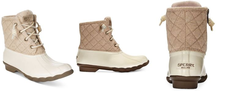 Sperry Women's Saltwater Duck Booties - Sperry - Shoes - Macy's