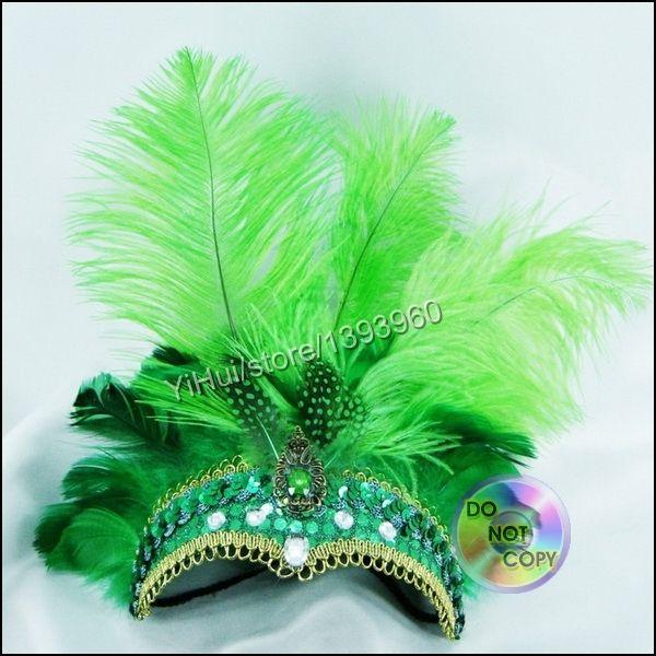 tocados con plumas para carnaval - Buscar con Google