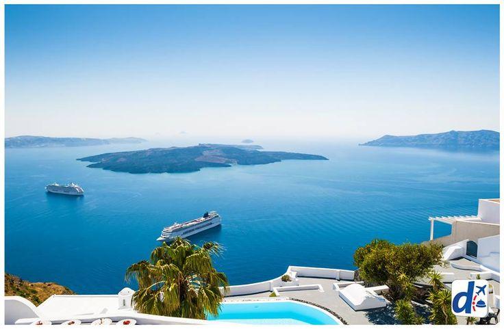 #Viaja a #Santorini con #Despegar