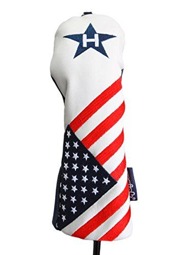 USA Patriot Golf 2016 Limited Edition Vintage Retro Patriotic 5 Rescue Hybrid Headcover Head Cover * You can find out more details at the link of the image. Note:It is Affiliate Link to Amazon.