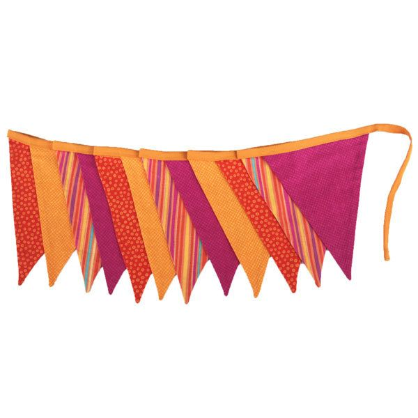 Fiesta flag bunting - Hip and Hooray