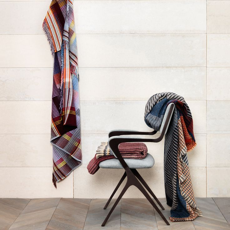 Shetland and Lambs wool throws