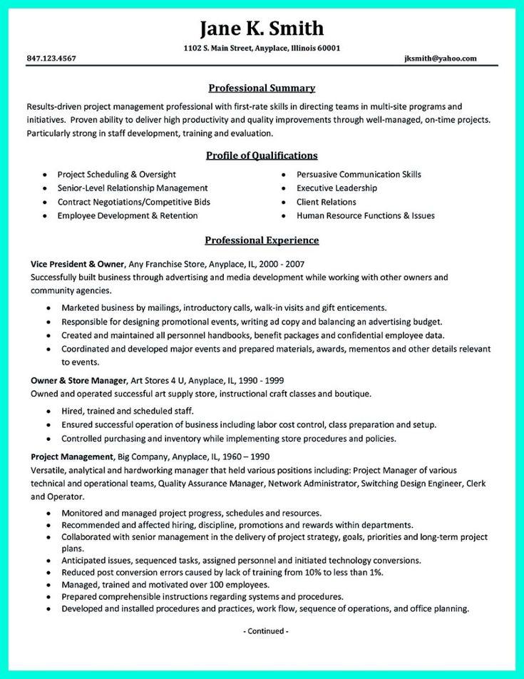 Store Owner Resume. Store Manager Resume Samples Visualcv Resume