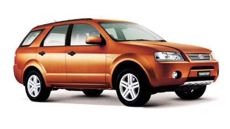 Ford Territory, E265, Ford of Australia, Broadmeadows, 2004