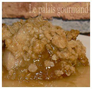 Le palais gourmand: Croustade aux pommes à l'érable
