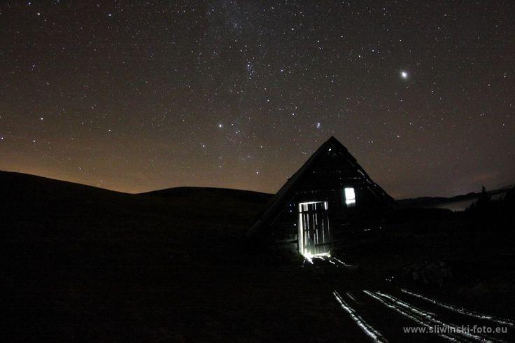 Shelter in Velka Fatra, Slovakia.  www.simplycarpathians.com