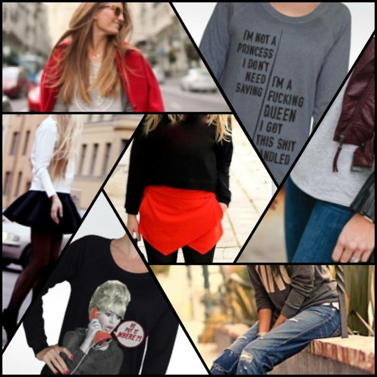 "Perfect weather for a sweatshirt! Style it up either with your favorite jean or even with a skirt & heels!!! Get your own ""artified"" sweatshirt from artifiedstore.com e-shop, in a variety of designs & colours!!! http://www.artifiedstore.com/en/6-hoodies-sweatshirts"